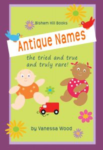 Antique Baby Names Book